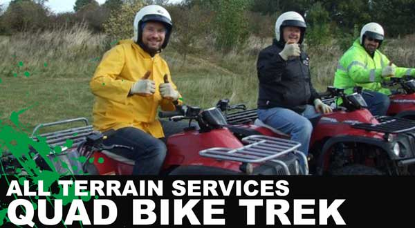 All Terrain Services - 4x4 Experiences Quad Biking