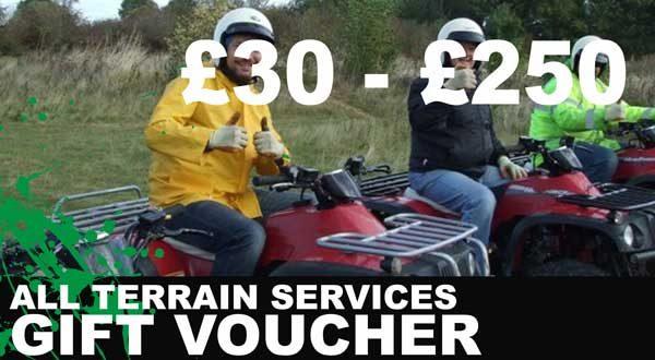 All Terrain Services - 4x4 Experiences - Gift Card